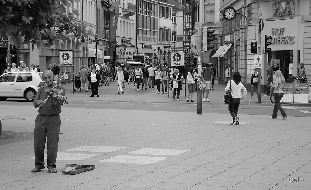 in the street by wella