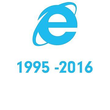 Internet Explorer Rest in Peace by jroi