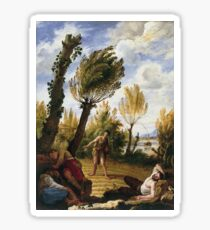 Domenico Fetti - The Parable Of The Weeds Sticker