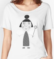 Nanny Pflaume Loose Fit T-Shirt