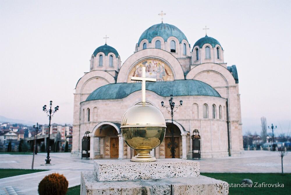 Church by Kostandina Zafirovska