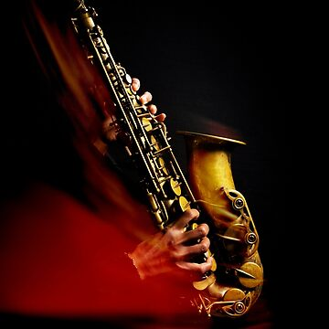 Saxophone alto (flamme rouge) by laurentlesax