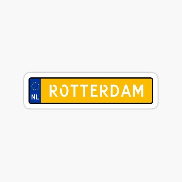 Rotterdam Kenteken Sticker