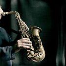 Saxophoniste by laurentlesax