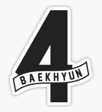 baekhyun 4 Sticker