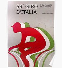 Retro Giro Poster Poster
