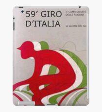Retro Giro Poster iPad Case/Skin