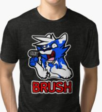 BRUSH Tri-blend T-Shirt