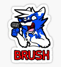 BRUSH Sticker