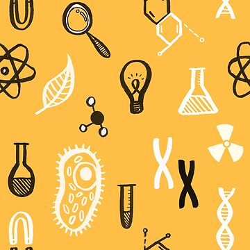 Science-Themed Pattern by lauratubb