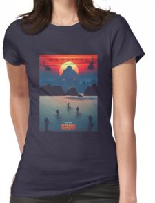 Kong Skull Island Movie Womens Fitted T-Shirt