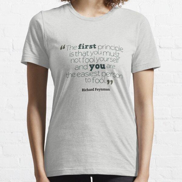 Richard Feynman Quote #1 Essential T-Shirt