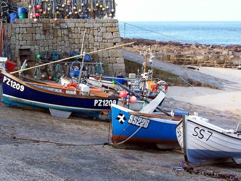 Fishing boats by Steve plowman