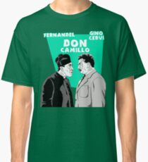"""ITALIAN CINEMA"" - DON CAMILLO Classic T-Shirt"