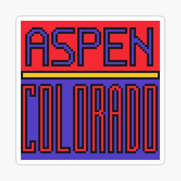 Aspen, Colorado Sticker