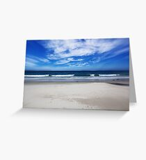 Nelsons Beach  Greeting Card