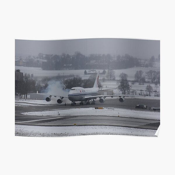 Boeing 747-4J6 Poster