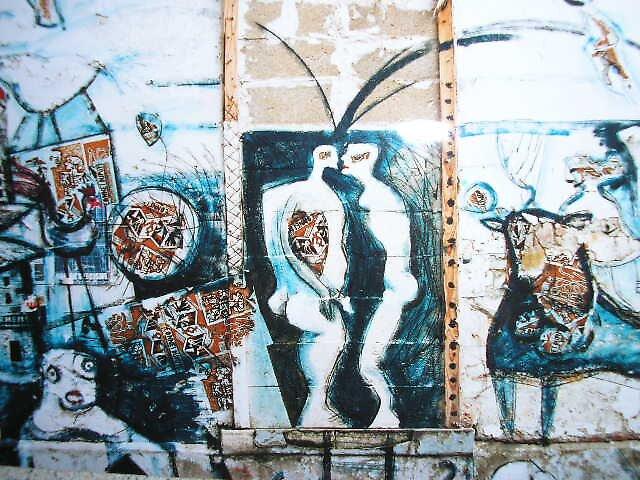 More Parisian Graffitti by Maddie
