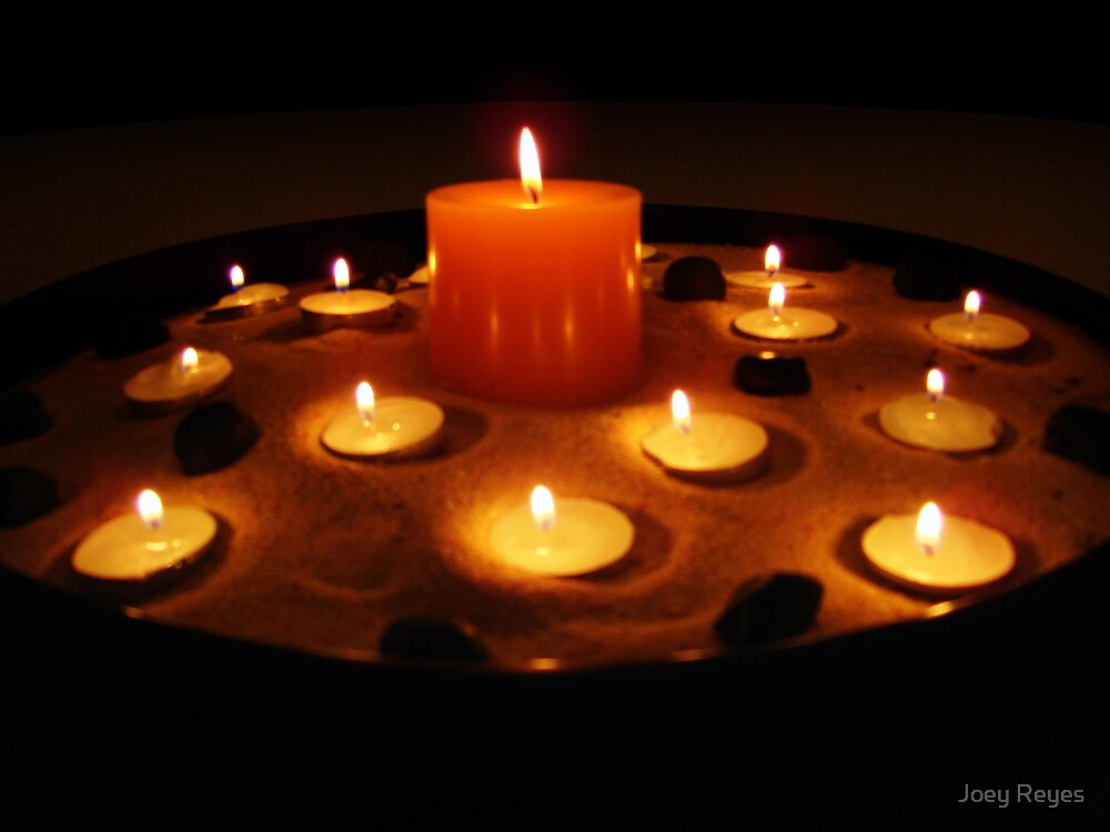 Dinner Candles by Joey Reyes
