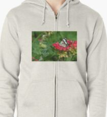 Christmas blessings Zipped Hoodie