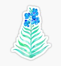 Blooming Orchid – Mint & Blue Palette Sticker