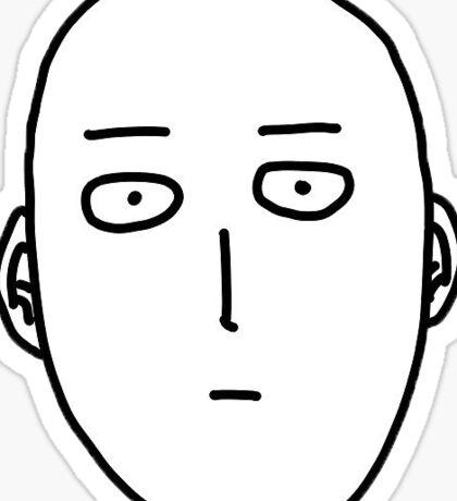 One-Punch Man - Saitama Sticker