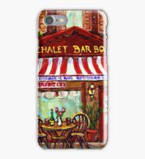 MONTREAL CHALET BBQ ROTISSERIE iPhone Case/Skin