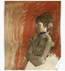 Edgar Degas - Ballet Dancer With Arms Crossed Poster