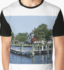 Edenton Waterfront Graphic T-Shirt