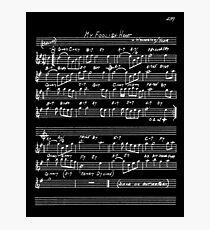 Jazz standard Photographic Print