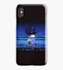 Guybrush Threepwood ship iPhone Case/Skin