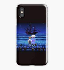 Guybrush Threepwood ship iPhone Case