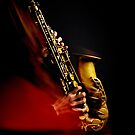 Saxophone alto (flamme rouge) by laurentlesax