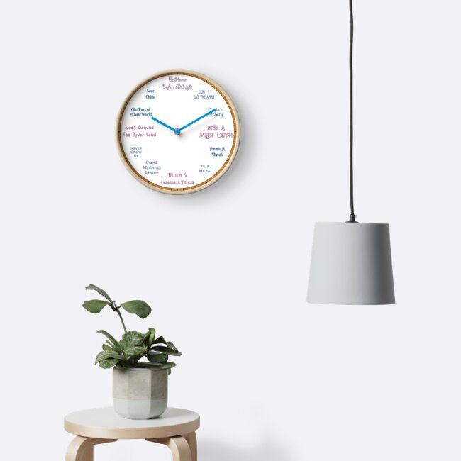 Time To Be A Hero Kid - Hercules Inspired Clock by PlatinumPhoenix