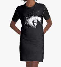Luke vs Vader Duel Graphic T-Shirt Dress
