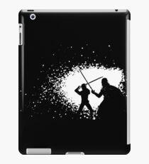 Luke vs Vader Duel iPad Case/Skin