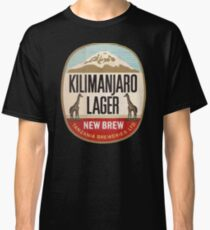 KILIMANJARO LAGER VINTAGE LOGO Classic T-Shirt