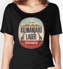 KILIMANJARO LAGER VINTAGE LOGO Women's Relaxed Fit T-Shirt
