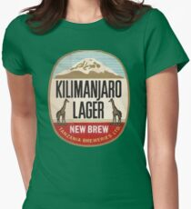 KILIMANJARO LAGER VINTAGE LOGO Womens Fitted T-Shirt
