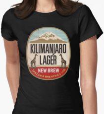 KILIMANJARO LAGER VINTAGE LOGO Women's Fitted T-Shirt