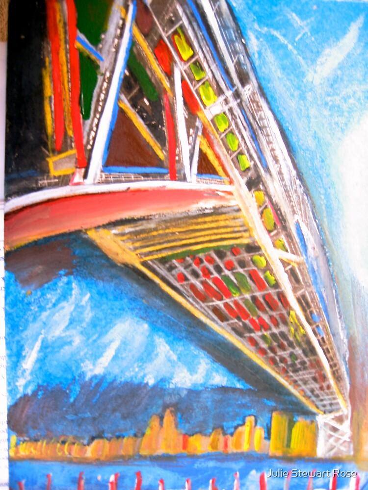 Sydney Harbour Bridge by Julie Stewart Rose