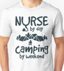 NURSE LOVE CAMPING T-Shirt