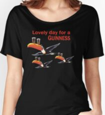 GUINNESS TOUCAN FLY LOGO Women's Relaxed Fit T-Shirt