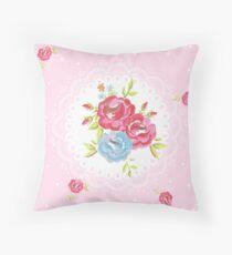 Cojín Rosas Ditsy en rosa