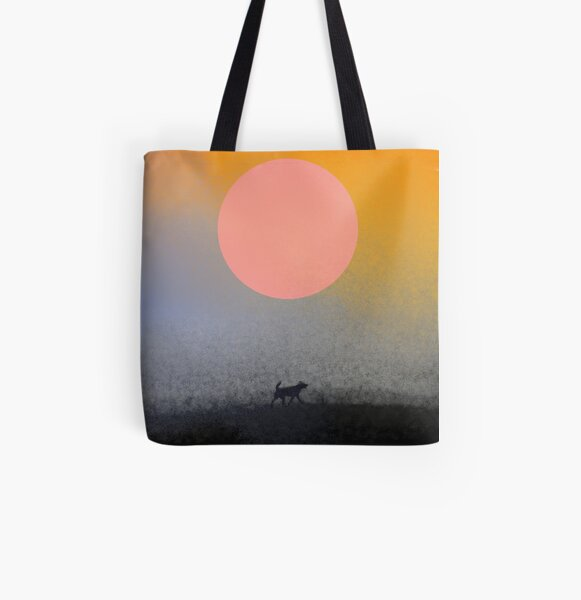 Dogway All Over Print Tote Bag