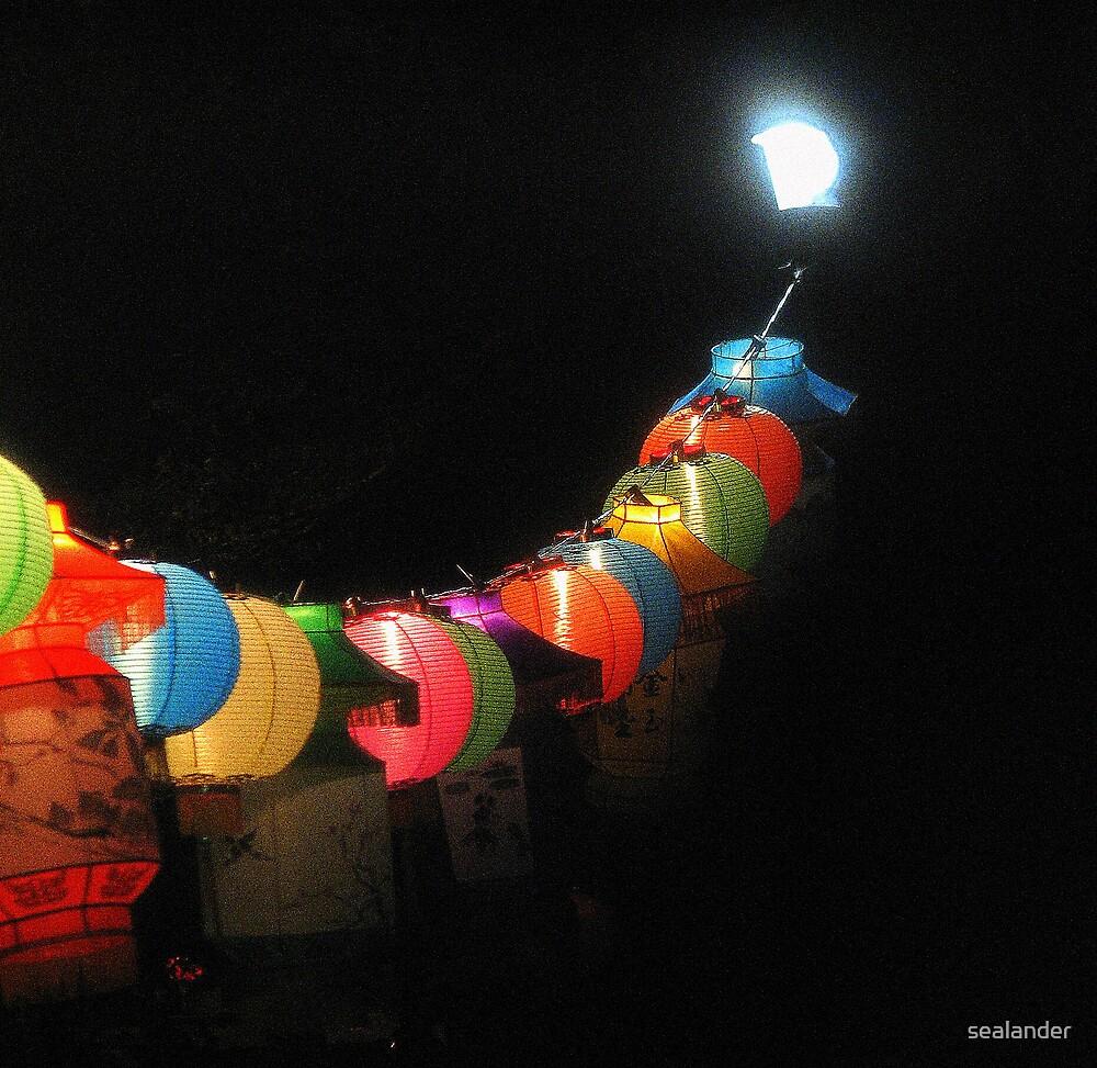 Chinese lanterns by sealander