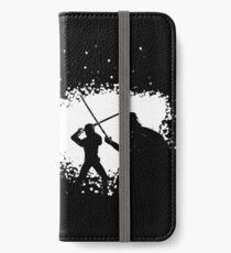 Luke vs Vader Duel iPhone Wallet/Case/Skin