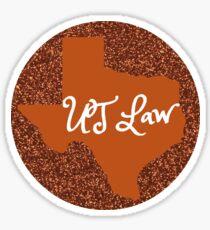 University of Texas Law School Sticker