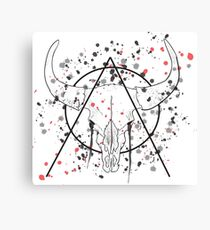 Dull Skull Canvas Print