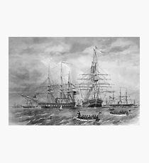U.S. Naval Fleet During The Civil War Photographic Print